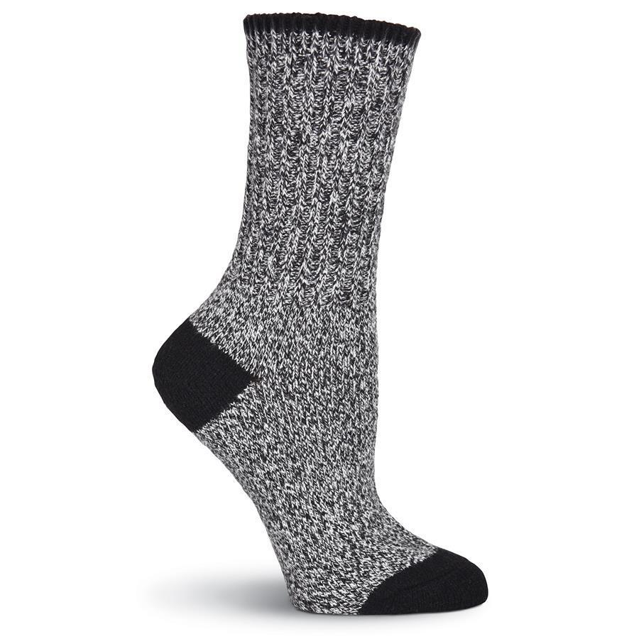 Women's Soft Marl Boot Crew Socks - XEJRA