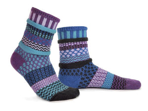 Raspberry Adult Crew Socks - XEJRA