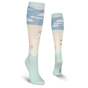 Unicorn Mermaid Knee High Socks - XEJRA