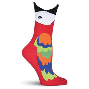 Wide Mouth Crew Socks - Wide Mouth Macaw