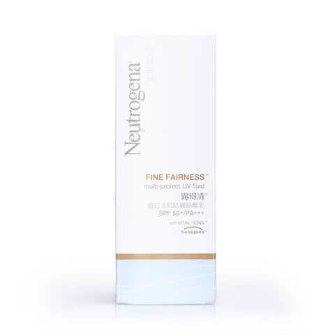 Neutrogena Clinical Fine Fairness Multi-Protect UV Fluid SPF 50+/PA+++ 30ml