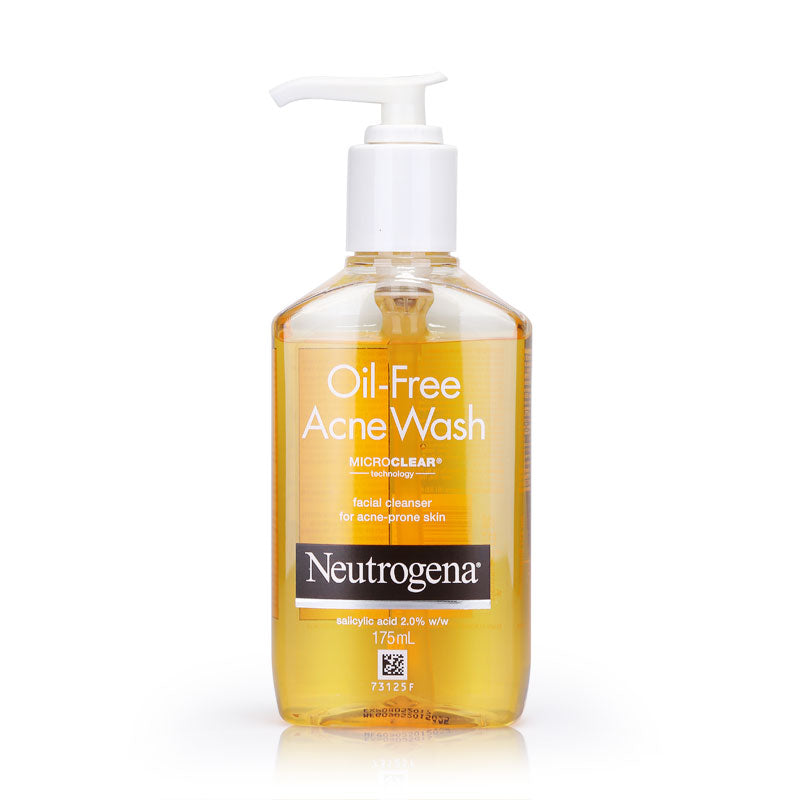 Neutrogena Oil-Free Acne Wash Microclear Technology Facial Cleanser 175ml