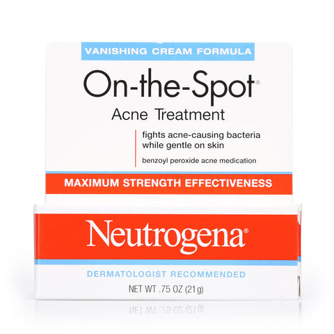 Neutrogena Vanishing Cream Formula On-the-Spot Acne Treatment 21g