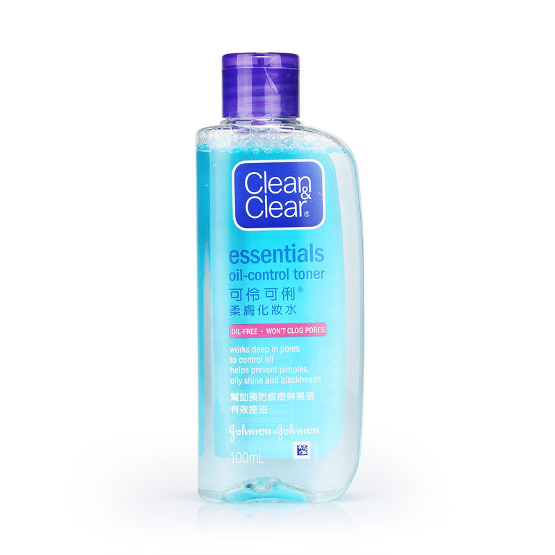 Clean&Clear Essentials Oil Control Oil-Free Toner 100ml