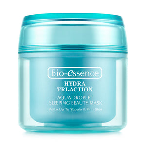 Bio-essence Hydra Tri-Action Aqua Droplet Sleeping Beauty Mask 80g