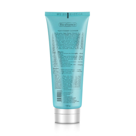 Bio-essence Hydra Tri-Action Aqua Foamy Cleanser 100g