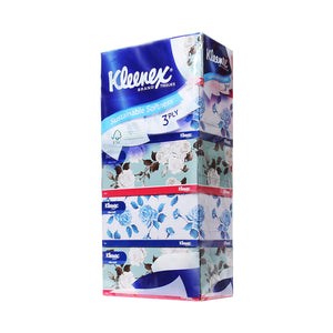 Kleenex Facial Tissue 5×100pcs 3PLY