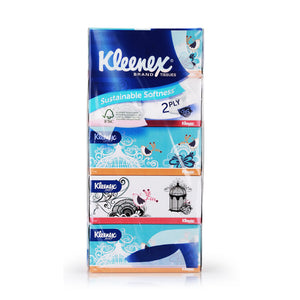 Kleenex Facial Tissue 5×150pcs 2PLY