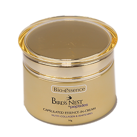 Bio-essence Bird's Nest + Peptides Nutri-Collagen & Whitening Essence-in-Cream 20g / 50g