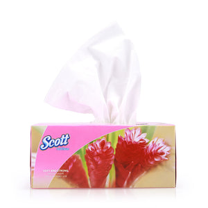 Scott Facial Tissue Box 5x150pcs