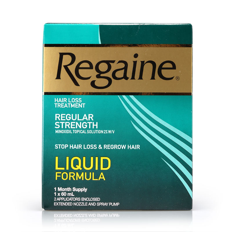 Regaine Regular Strength 2% Solution 60ml
