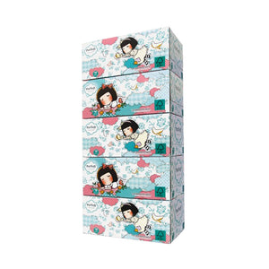 PurSoft 3-Ply Facial Tissue Box 5x100sheets (Normal/Chocolate Rain)