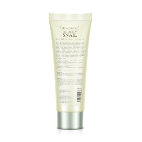 Bio-essence Bio-Energy Snail Skin Repair Foamy Cleanser 100g