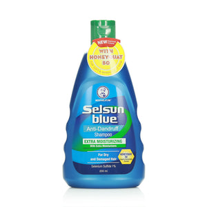 Selsun Blue Anti-Dandruff Shampoo For Dry & Damaged Hair 200ml