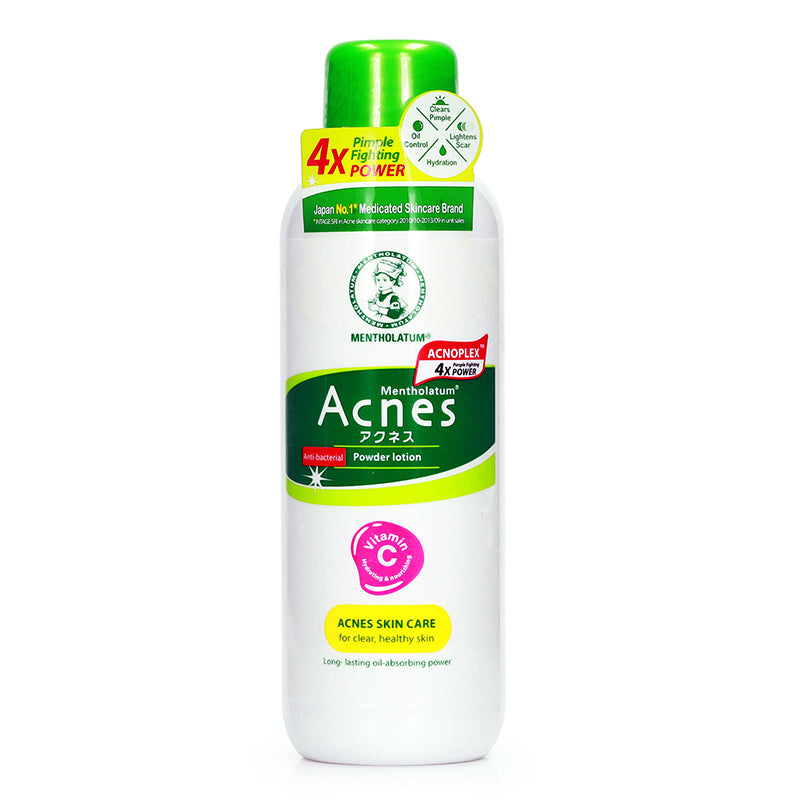 Mentholatum Acnes Anti-Bacterial Powder Lotion 150ml