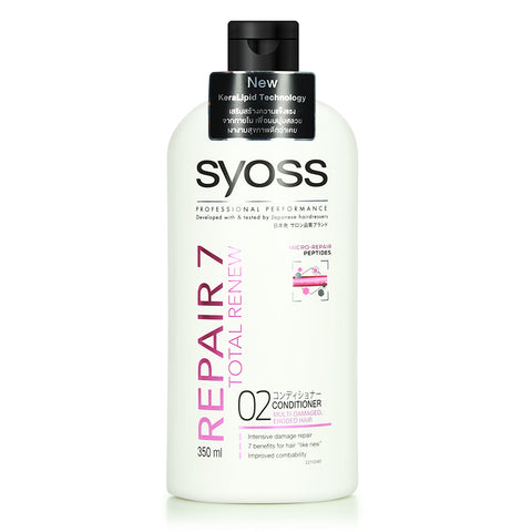 Syoss Professional Performance Repair 7 Total Renew (Shampoo /Conditioner)