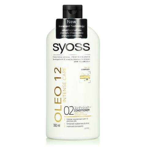 Syoss Professional Performance Oleo 12 Intense Care (Shampoo/Conditioner)