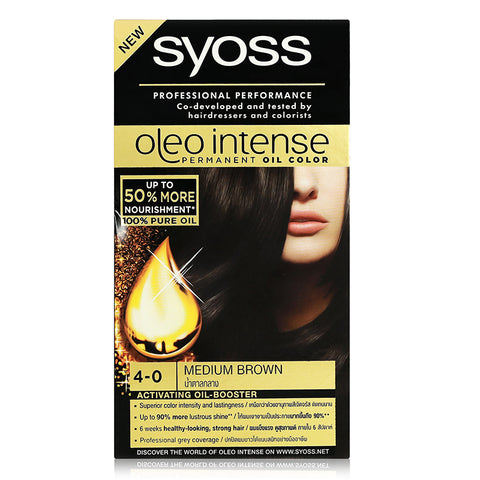 Syoss Professional Performance Oleo Intense Hair Dye (Availble in 4 Shades)