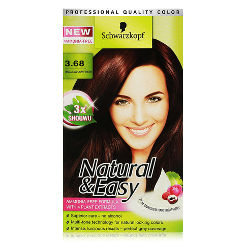 Schwarzkopf Natural & Easy Hair Dye (Available in 8 Shades)