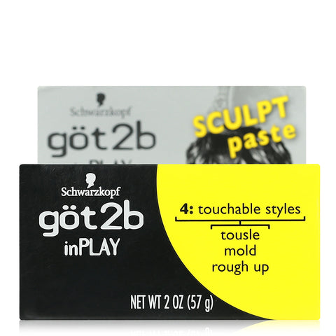 Schwarzkopf got2b Inplay Sculpt Paste 57g
