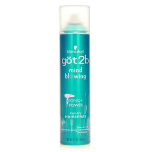 Schwarzkopf got2b Mind Blowing Fast Dry Hairspray 257g