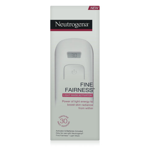 Neutrogena Fine Fairness Light Mask Activator