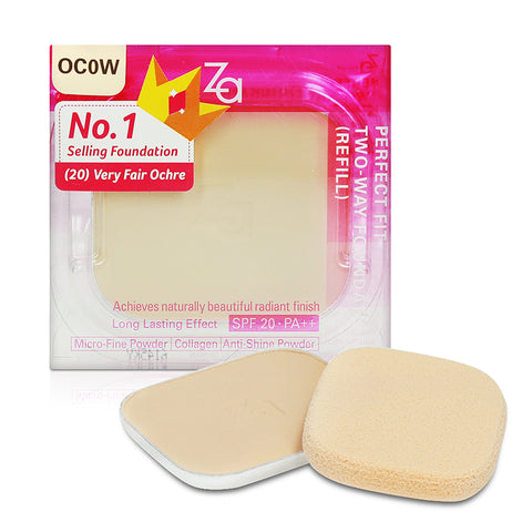 Za Perfect Fit Two-Way Foundation Refill