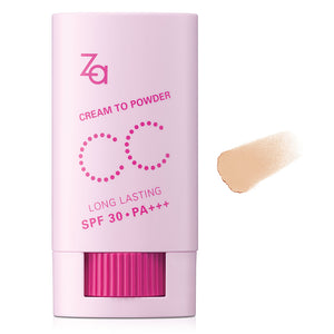 ZA Cream to Powder CC Stick