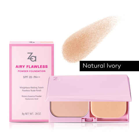 ZA Airy Flawless Powder Foundation 8g