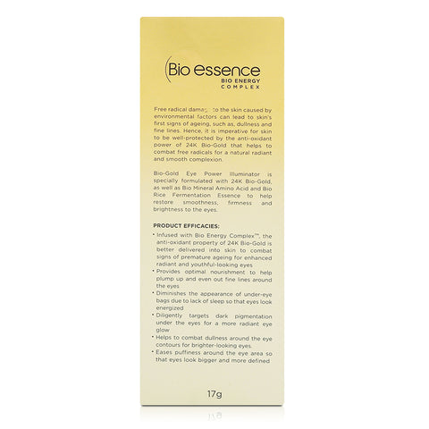 Bio-essence Bio-Gold Eye Power Illuminator 17g