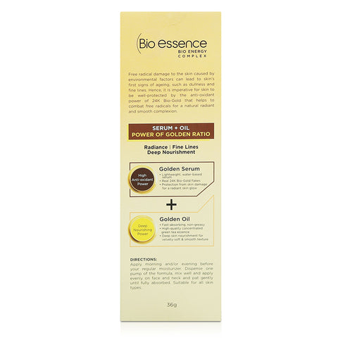 Bio-essence Bio-Gold Golden Ratio Double Serum 36g