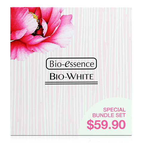 Bio-essence Bio-White Serum 30ml + Day Cream 50g + Night Cream 50g
