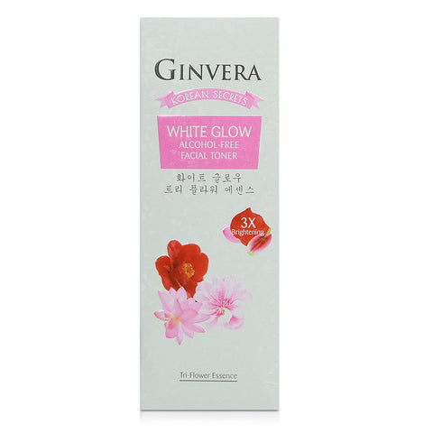 Ginvera Korean Secrets White Glow Alcohol-Free Facial Toner 100ml