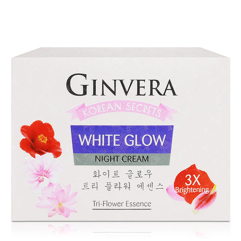 Ginvera Korean Secrets White Glow Night Cream 45g