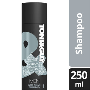TONI&GUY Men Deep Clean Shampoo 250ml