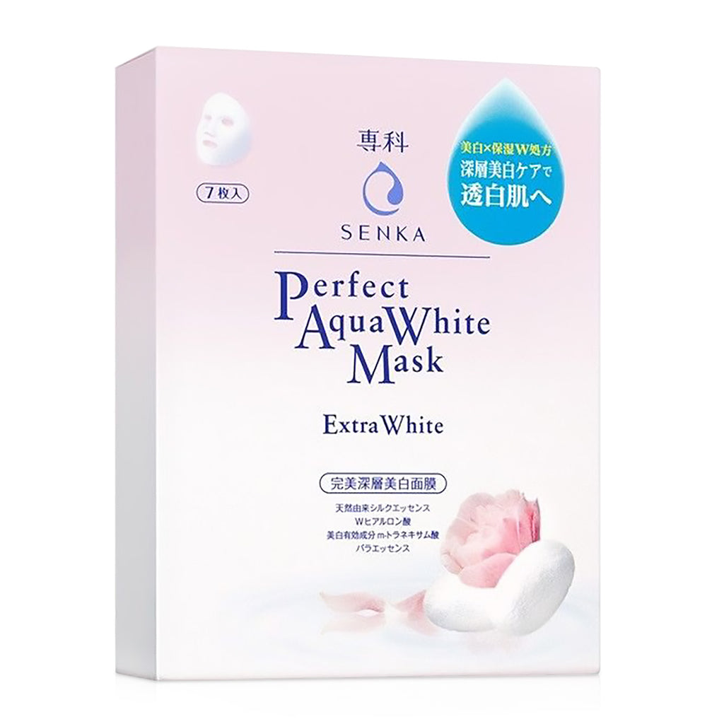 Senka Aqua White Mask 7P Box
