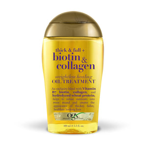 OGX Biotin + Collagen Oil Treatment 100ml