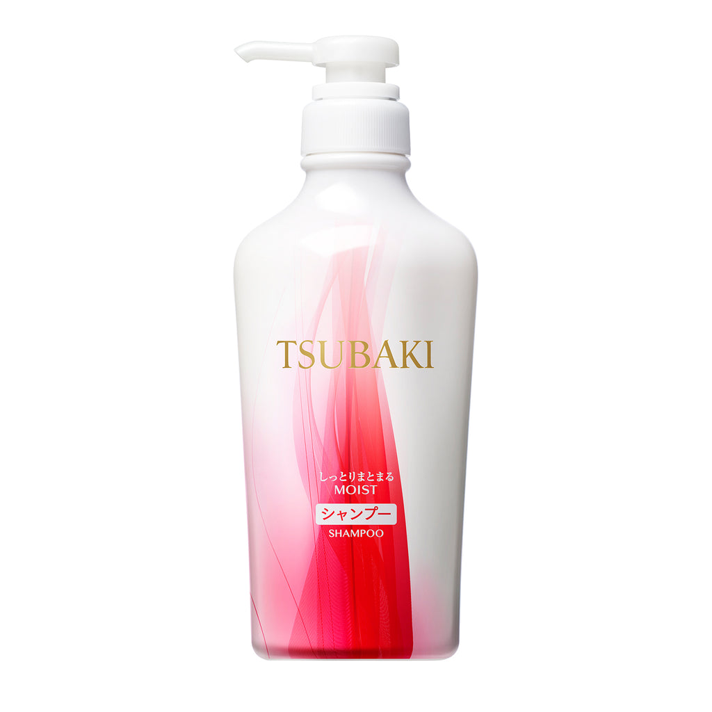 Tsubaki Botanical Moist & Manageable Shampoo 450ml
