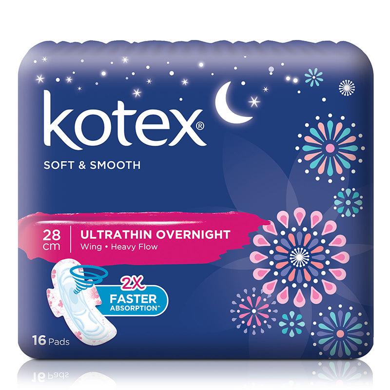Kotex Pads Soft & Smooth Ultra Thin Wing