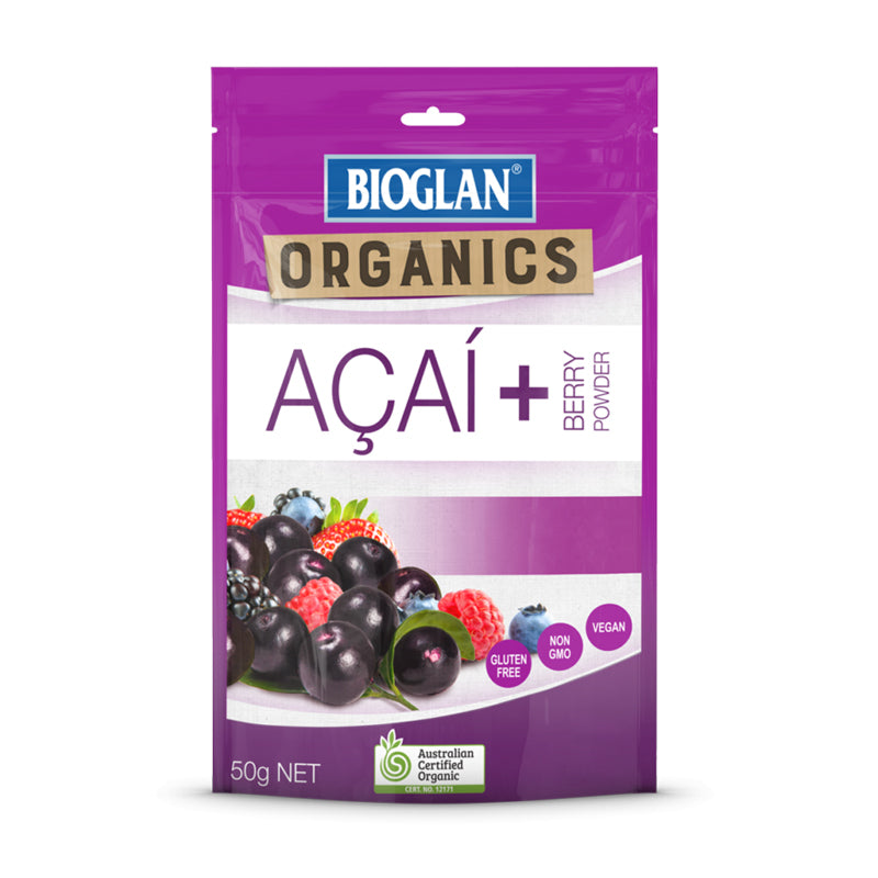 Bioglan Superfoods Acai + Berry Powder 50g