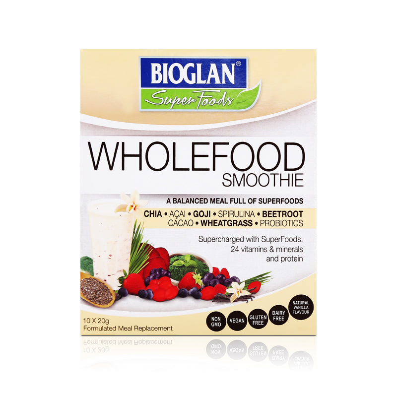 Bioglan Superfoods Wholefood Smoothie 10x20g