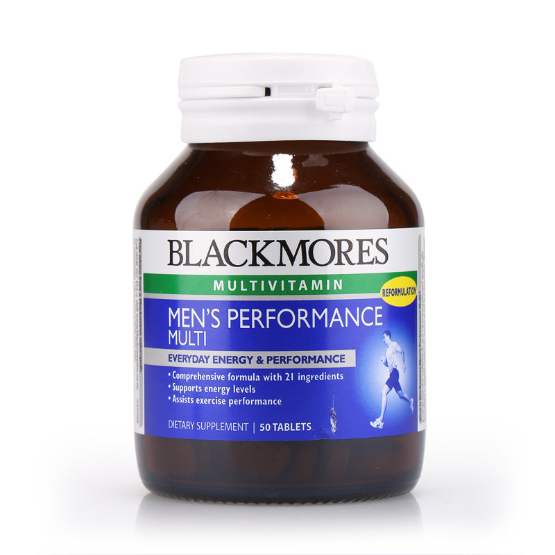 Blackmores Men's Performance Multi 50tabs