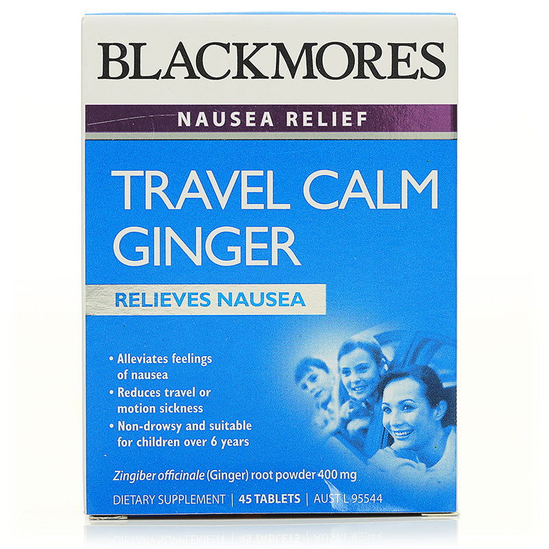 Blackmores Travel Calm Ginger 45tabs