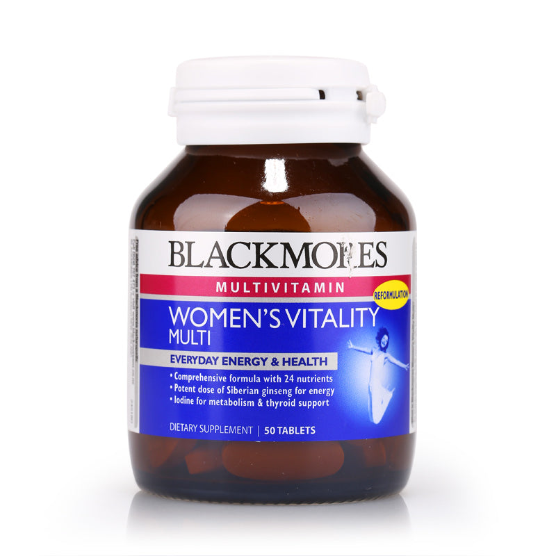 Blackmores Womens Vitality Multi 50tabs