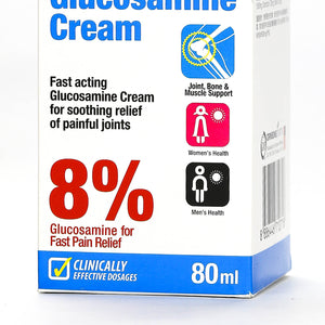 Principle Nutrition 8% Glucosamine Cream 80ml