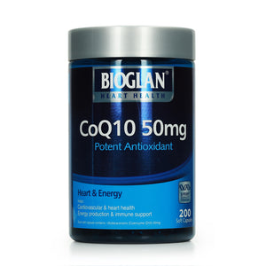 Bioglan CoQ10 50mg 200 caps