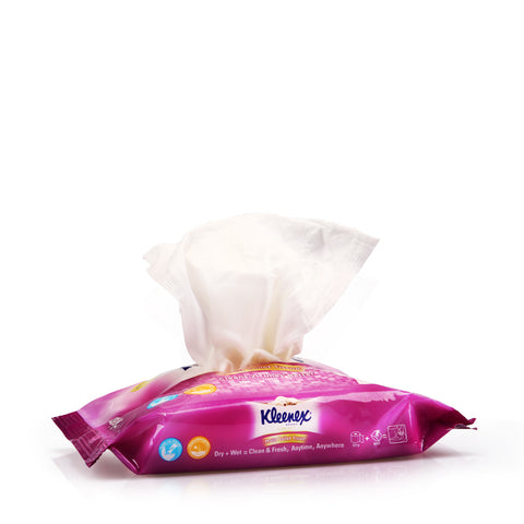 Kleenex Ultra Soft Moist Toilet Tissue