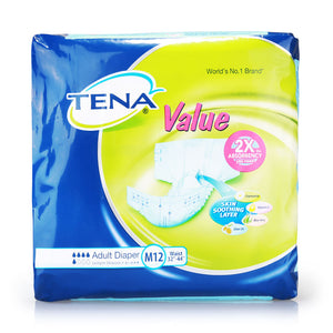 Tena Value M 12pcs