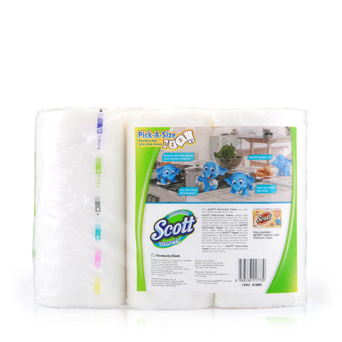 Scott Pick-A-Size Towels 6x50pcs