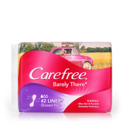 Carefree Barely There Scented Shower Fresh 42pcs